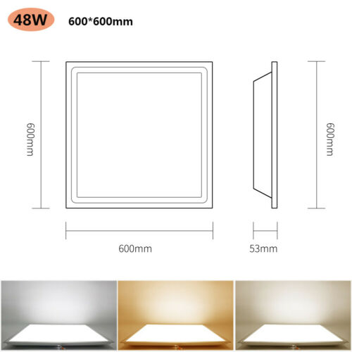 LED Panel Ceiling Lighting Down Light Recessed Ultra Slim Downlights Wall Lamps