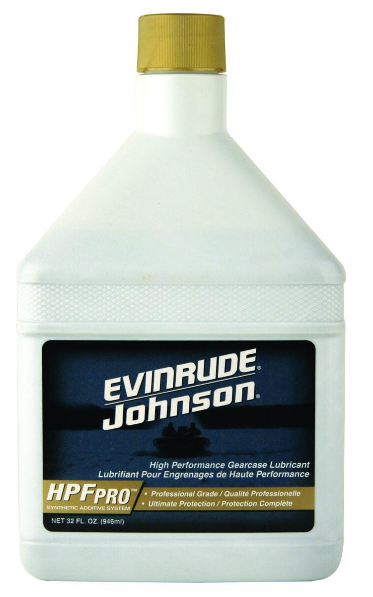 Evinrude Johnson Aceite de Engranaje Hpf pro 32 Oz. Nr.778755 Precio Litros