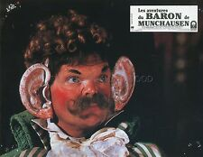 TERRY GILLIAM THE ADVENTURES OF BARON MUNCHAUSEN 1988 8 VINTAGE LOBBY CARDS LOT