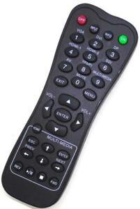 Genuine L-27-5KEY DEL Display Remote For Planar PS4652 PS5552 PS6552