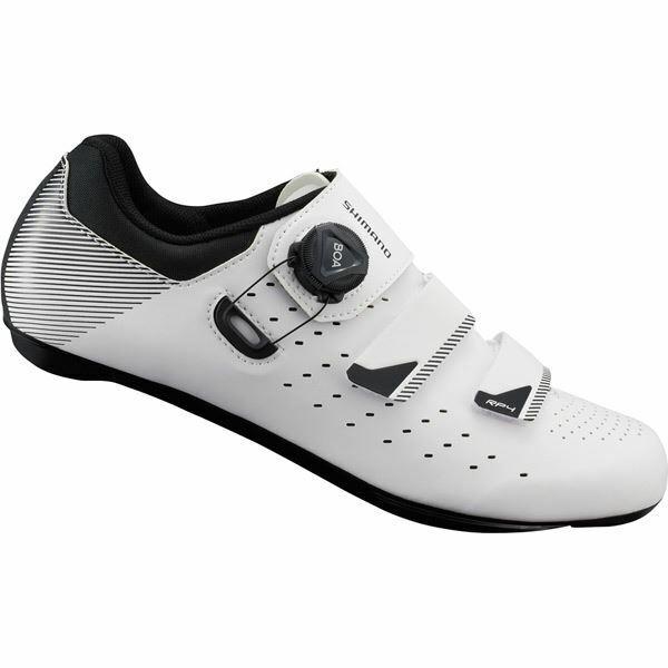 Shimano RP4 SPD-SL Scarpe, Bianco, Taglia 40