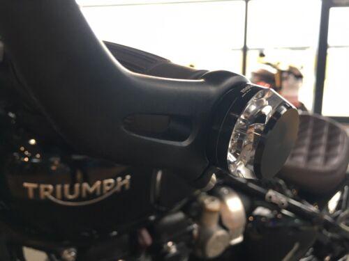 MotoGadget M Blaze Disc klare LED Lenkerenden Blinker schwarz handlebar signal