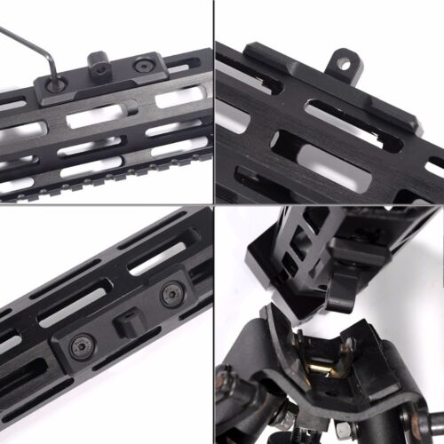 de aluminio US /_ M-Lok bípode Adaptador de montaje-Fular para Harris ^ P Stud