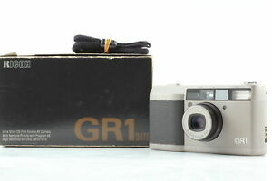 [Near MINT] Ricoh GR1 Silver Point & Shoot 35mm Film Camera From JAPAN