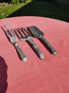 3 Garden Tools Made In Canada. ALLEN SIMPSON, ALUMINUM