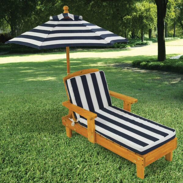 KidKraft Extérieur Chaise Avec Parapluie   Enfants Extérieur Sun chaise
