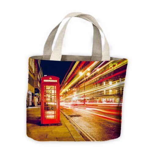 London Phone Box Tote Shopping Bag For Life