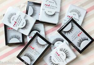 6x-10x-20x-Red-Cherry-Wimpern-WAHLE-SELBST-falsche-Echthaar-Wimpern-strip-lash