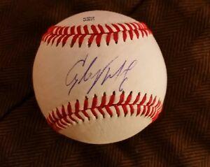 Autographs-original Good Starling Marte Signed Baseball Omlb Pittsburgh Pirates Dominican Republic Coa K1 Special Summer Sale