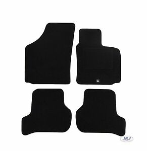 Seat Toledo 2012-on Fully Tailored RUBBER Car Mats in Black.