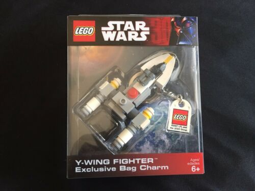 LEGO Star Wars Y-Wing Fighter Exclusive Bag Charm Key Chain Sealed Box NEW