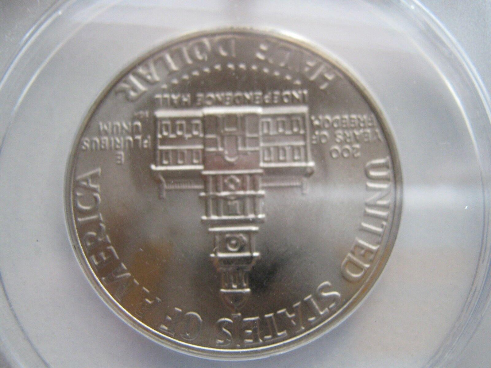 Kennedy Half Dollar , 1976-D , MS 64 , ANACS Certifiied