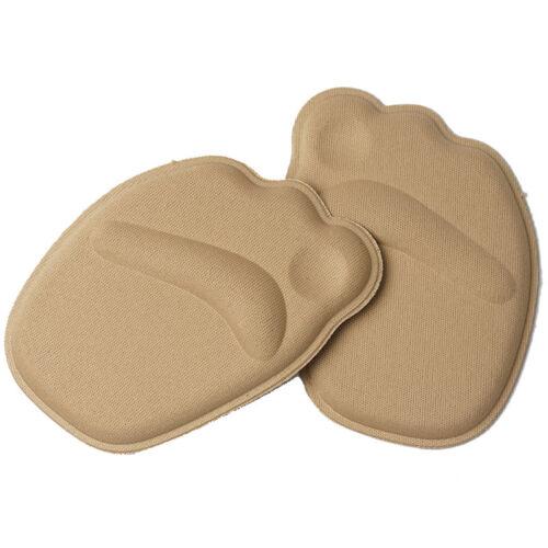 2x Gel High Heel Liner Grip Shoe Half Insole Pad Foot Protector Cushion Ca Udww
