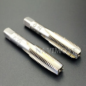 HSS 10mmx1.25 Metric Taper and Plug Tap Right Hand Thread M10x1.25mm Pitch