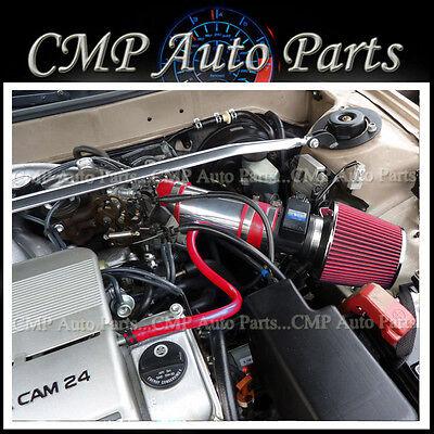 BCP RED 92-96 ES300 Camry 3.0L V6 Short Ram Air Intake Filter