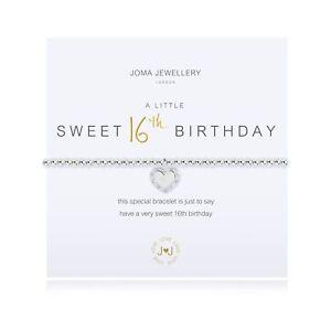 Joma Jewellery - A Little Heureux Sweet 16ème Anniversaire Avec Pochette Cadeau Fffjj6st-08000051-801540429