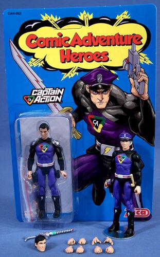 Captain Action by ZICA Toys purple suit variant