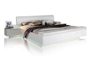Silent Bettanlage Doppelbett 180x200 Dekor Sandeiche Weiß