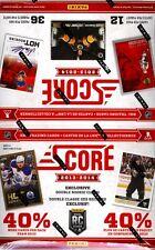 2013-14 Panini Score Hockey 36 Pack Box