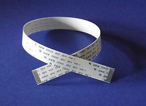 FFC-A-12Pin-1-0Pitch-30cm-Flachbandkabel-Flat-Flex-Cable-Ribbon-AWM-Flachkabel