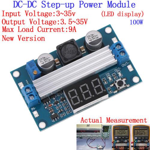 100W DC-DC LTC1871 Digital Boost Step up Adjustable Converter 3-35V to 3.5-35 JN