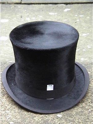 Bello A&j Scott Idrargirismo Aberdeen Black Silk Top Hat Sz 7.-mostra Il Titolo Originale Design Professionale
