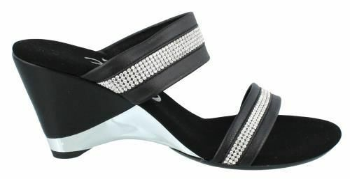 in linea Onex Stunning Stunning Stunning High Heel Dressy Wedge Leather donna Sandals High Heel High  il miglior servizio post-vendita
