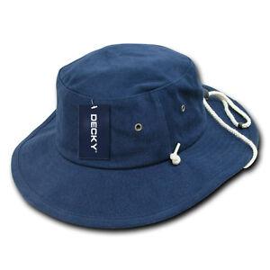 f7e9748be2b Navy Blue Aussie Boonie Safari Bucket Fishing Outback Drawstring Hat ...