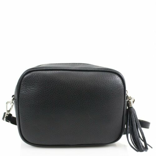 Woman Lovely Real Leather Smart Small Messenger Cross Body Shoulder Bag UK