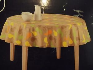 Image Is Loading A Pair Tablecloth 70 034 Diam Style RE