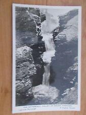 VINTAGE POSTCARD - THE WATERFALL - VALLEY OF ROCKS - TINTAGEL  RP