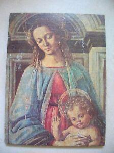 Ancienne-icone-catholique-papier-sur-bois-de-24-1-cm
