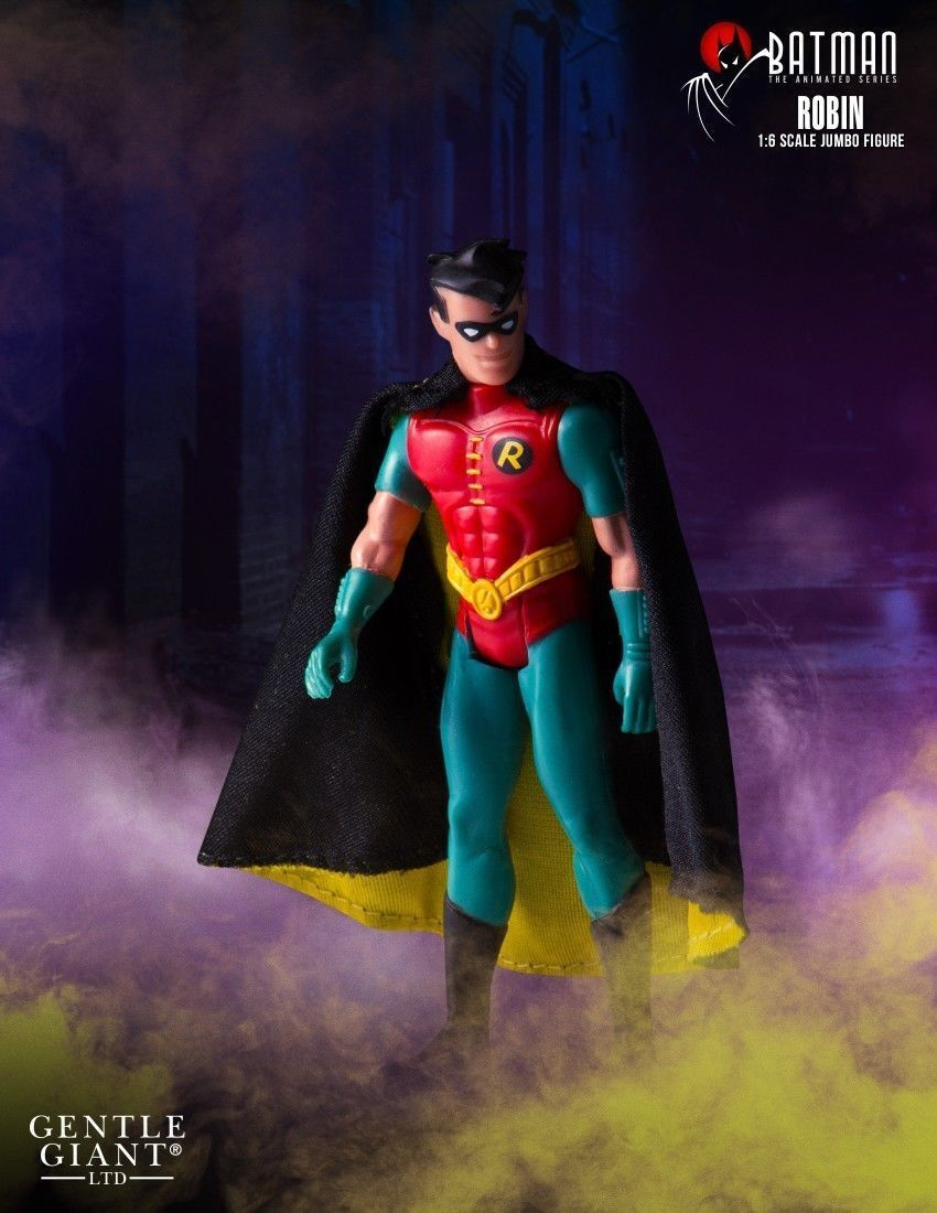 DC Gentle Giant Batman Animated Series Jumbo Robin Acción Figura