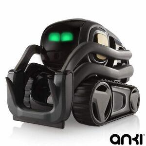 Anki-Vector-robot-y-habitat-en-Negro-Gris-Espacio-8-anos-Envio-Gratis