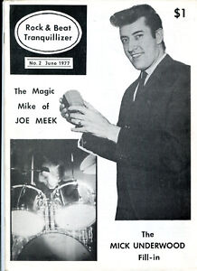 rare-Fanzine-Rock-amp-Beat-Tranquillizer-No-2-June-1977-Joe-Meek-Mick-Underwood