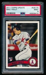 MIKE-TROUT-4000-PSA-9-MINT-2011-TOPPS-UPDATE-US175-ROOKIE-CARD-ANGELS-RC-SP