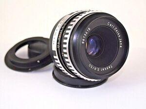 Objektiv-fuer-Canon-Carl-Zeiss-Jena-Tessar-50mm-F-2-8-DSLR-m42-Adapter-Canon