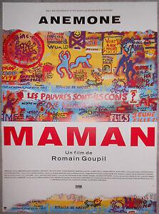 Affiche-MAMAN-Romain-Goupil-ANEMONE-Arthur-H-40x60cm