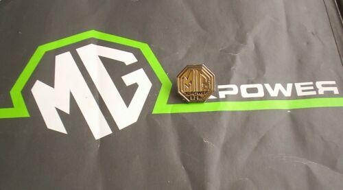 MG Sport /& Racing Xpower Lapel Badge /& Velvet Pouch mgmanialtd.com