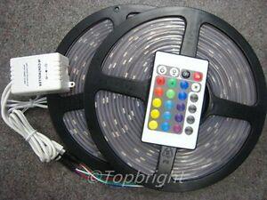 10M-SMD-5050-RGB-Waterproof-LED-Strip-IR-Remote