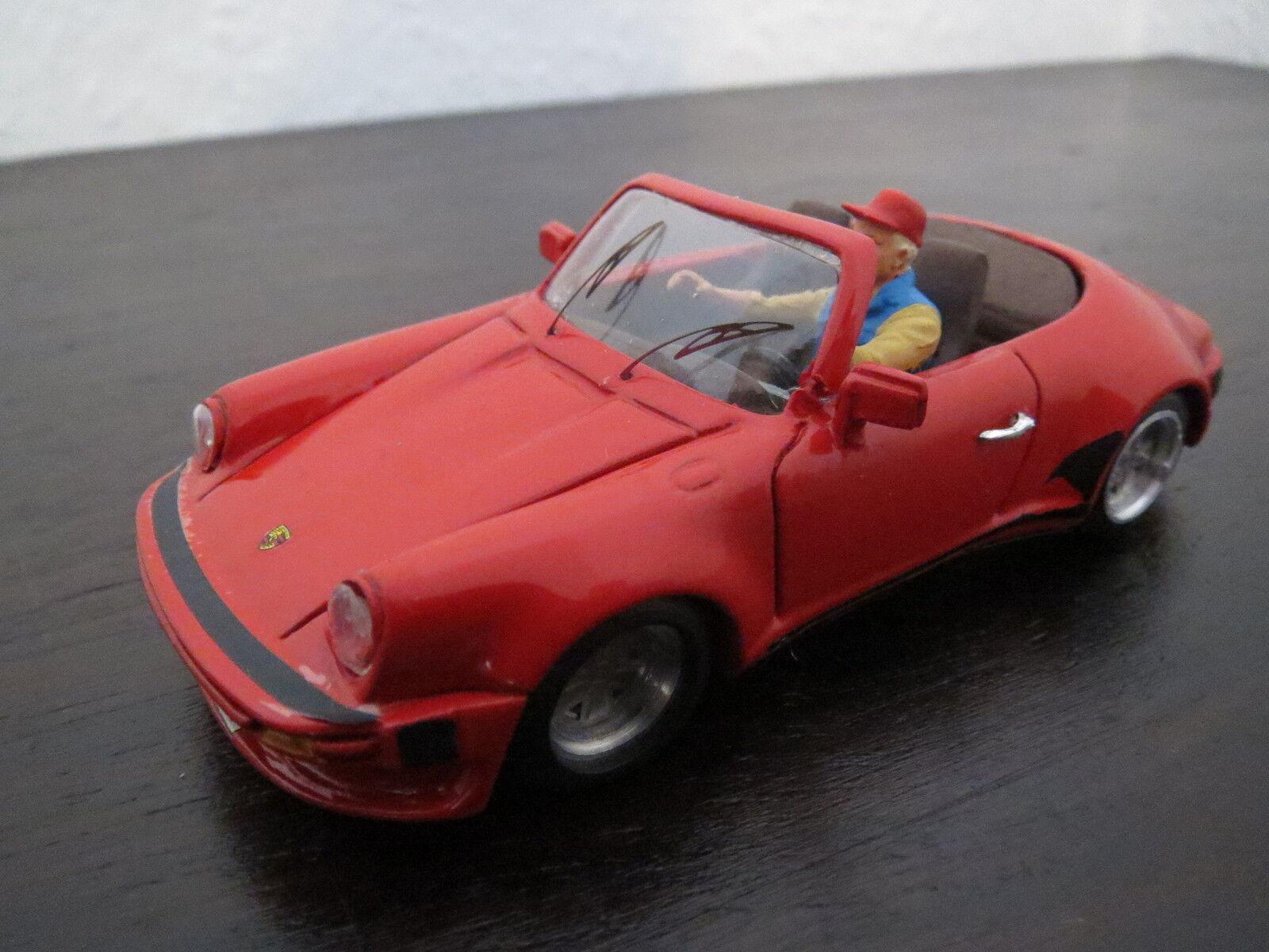 RARITÄT  PIT Models Porsche Porsche Porsche 911 Carrera Cabrio, rot, 1 43, TOP  | Won hoch geschätzt und weithin vertraut im in- und Ausland vertraut  258507