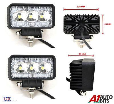 4X HIGH POWER 12//24V LED WORK LAMPS FLOOD LIGHT TRUCK CAR 4X4 TRAILER CAMPER VAN