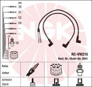 Jeu-de-fil-de-bougie-cable-allumage-NGK-0941-AUDI-80-1-8-75-113ch-89-89Q-8A-B