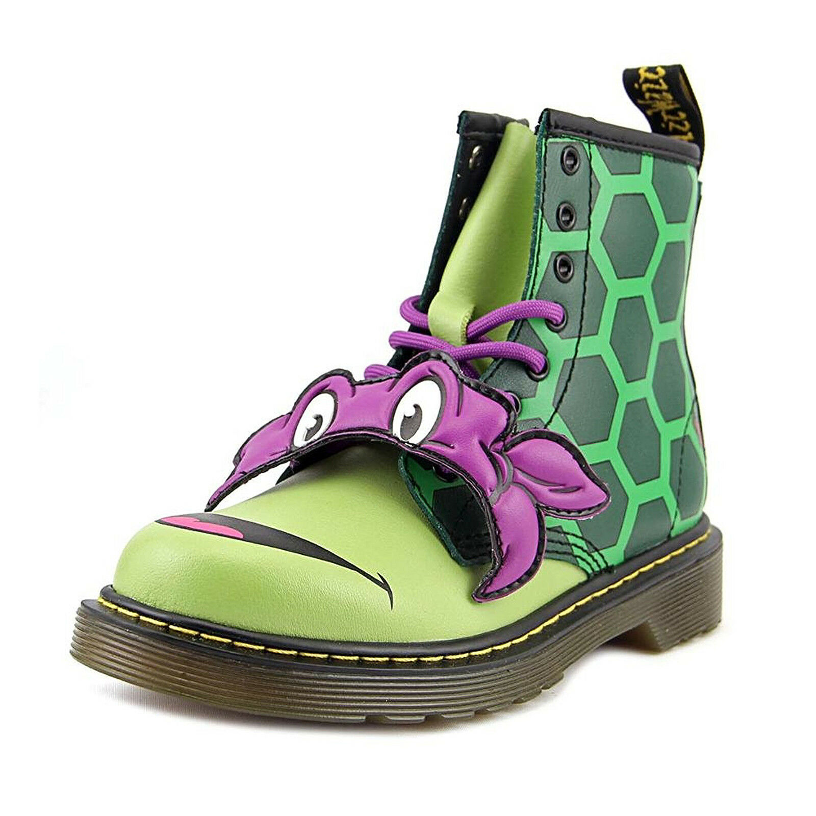 Dr.Martens Stivali Turtles Donnie J Dms Green Lamper Multicolor