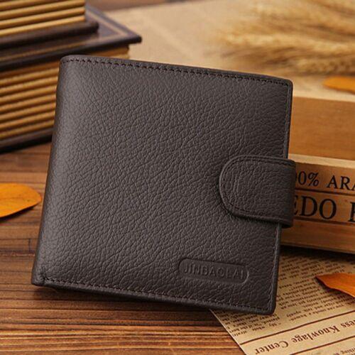 ID Cash Receipt Photo Stockage Portefeuille Argent Clip Vachette Sac à main deux volets Portefeuille