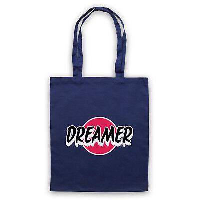 DREAMER HIPSTER SLOGAN RETRO COOL FUNNY VINTAGE SHOULDER TOTE SHOP BAG