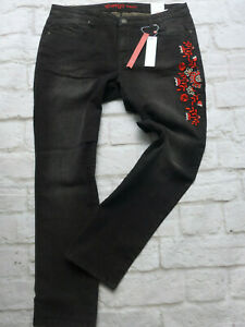 Sheego-Women-039-s-Jeans-Size-44-to-58-Lana-Black-Large-Sizes-plus-Size-341