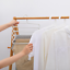 5 Layers White PP Trousers Pants Towels Scarf TieS Clothes Hanger Rack Storage