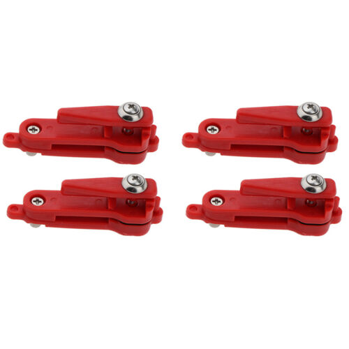 4 Pieces Heavy Tension Snapper Release Clip for Planer Board Fishing Tackles