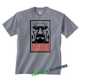 CUISINIER-GRIS-T-shirt-Heisenberg-bad-walter-HOMERS-HOMIES-OBEY
